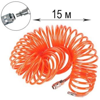 Шланг полиуретановый спиральный 15 м