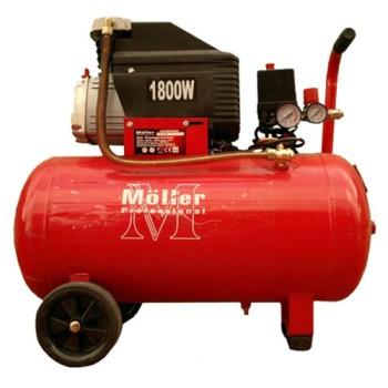 Компрессор Moller AC 260/050, 1800W, ресивер 50 л, 2 выхода