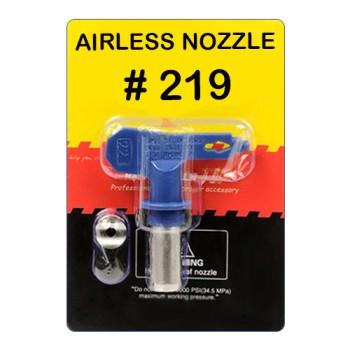 Сопло реверсивное  №219 (для красок средней и высокой вязкости) купить, цена, фото, отзывы, технические характеристики