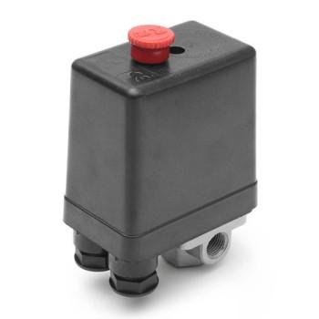 Пусковое реле (давления) для компрессора 4 выхода, 12 бар, 240 В купить, цена, отзывы, оптом, производитель